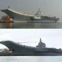 China's two aircraft carriers conduct exercises together for 1st time