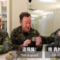 French YouTuber impressed by Taiwan's military rations