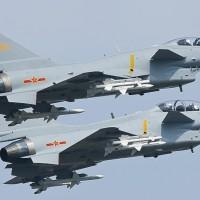 Multiple Chinese warplanes enter Taiwan's ADIZ during missile test