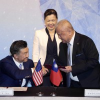 Local business association, Amcham call for Taiwan-US bilateral trade agreement