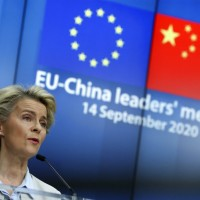 EU presses China on trade, human rights during virtual summit
