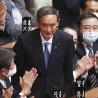 菅義偉任新日本首相 台灣總統祝賀