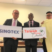 Saint Lucian embassy in Taiwan holds donation ceremony