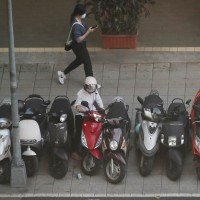 Taiwan considers ending scooter parking on sidewalks