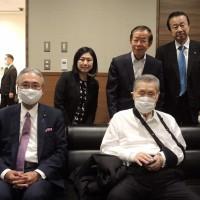 日本前首相森喜朗抵達台灣 傍晚會晤蔡英文