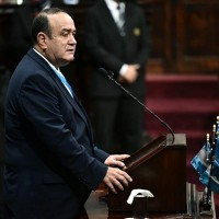 Guatemalan president tests positive for new coronavirus