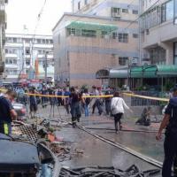 中台灣東海商圈氣爆奪四命 遺體旁驚見瓦斯桶警消調查中
