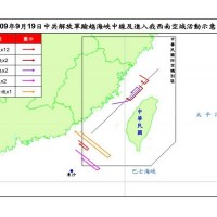 【最新】美國務次卿訪台灣 中共軍機連2日越過「海峽中線」 我空軍「防空飛彈」追蹤監控