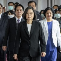 Taiwan president says China poses threat to region
