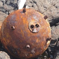 Suspected Chinese naval mine found on offshore islet of Taiwan