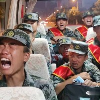 Video shows Chinese soldiers crying as they allegedly head to Sino-Indian border