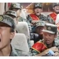 中國解放軍被逼上中印前線哭到冒鼻涕泡、網友:「韭菜」只能當炮灰
