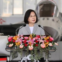 Taiwan will not permit Chinese saber-rattling to continue in its airspace: Tsai