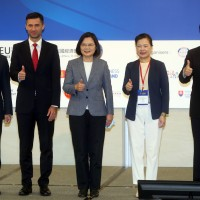 Taiwan president calls for investment agreement with EU
