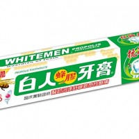 Whitemen Toothpaste in brush with law for labeling Chinese tubes as Taiwanese