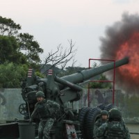 Taiwan's Matsu Defense Command conducts joint live-fire drills