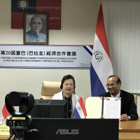 Taiwan, Paraguay sign agreement to promote technical cooperation