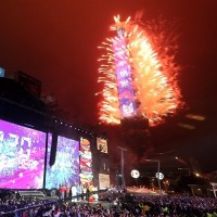 Taipei 101 fireworks show to be held as usual this year