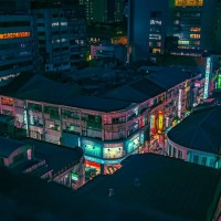 Photo of the Day: Taipei rooftop view at night