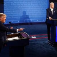 【有片】美國2020總統大選首場辯論被評「史上最糟」 川普不斷插話、拜登嗆「閉嘴」