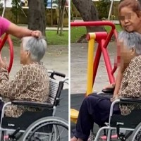 Caregiver caught on video allegedly abusing elderly woman in New Taipei