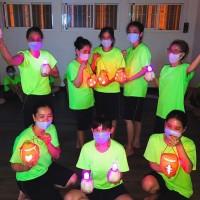 【中秋節在台灣不寂寞】高雄收容所舉辦「幸福月夜提柚燈」 外籍朋友超開心