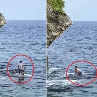 Filipino prosecuted over holding sea turtle in Taiwan