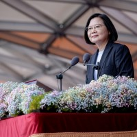 Taiwan asks China to rein in state media over Tsai's National Day speech