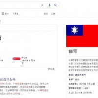 Google lists Republic of China founding as 1949 on Taiwan's National Day