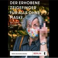 「 X你們這些不戴罩的!」 德國柏林防疫宣導廣告超狂