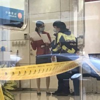 Update: Robber steals NT$400,000 from Taipei bank customer, flees on MRT