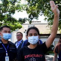 Thai protest leader released after Wednesday arrest