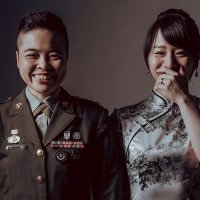 2 same-sex couples to take part in Taiwan's mass military weddings Oct. 30