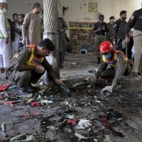 Bomb at seminary in Pakistan kills 7 children, wounds 70