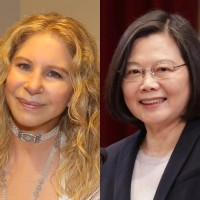 Barbra Streisand lauds Taiwan's 'wonderful female president'