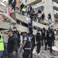 愛琴海震後小規模海嘯 土耳其希臘22死近800傷