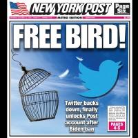 【拜登之子電郵門】禁轉發引反彈 推特終低頭解鎖《紐約郵報》