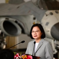 Taiwan president holds national security meeting ahead of US election