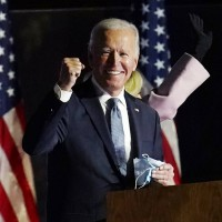 Biden wins Wisconsin in fight for White House