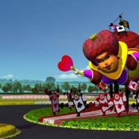Taiwan flower fest to recreate scenes from 'Alice in Wonderland'