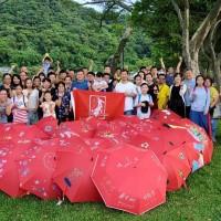 「友你撐傘 血友生活不卡關」網站正式上線 JJ林俊傑、林心如、Bii畢書盡邀您線上彩繪紅傘 將愛心「畫」為助力