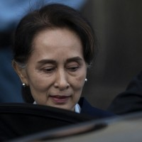 Suu Kyi's party pledges unity government after election 'landslide'