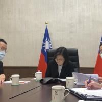 蔡英文與民主黨籍美國眾院外委會主席越洋通話 感謝推動挺台灣法案