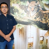 Cartoonist brings Taiwan's extinct Formosan clouded leopard to life