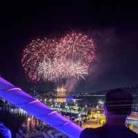 Photo of the Day: Heart-shaped fireworks in New Taipei
