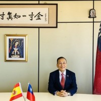 Taiwan's representative to Spain calls attention to Chinese threat