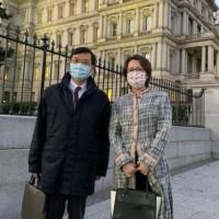 「胡迪次長」結束訪美國行程 回台灣前蕭美琴送他這個網友笑翻
