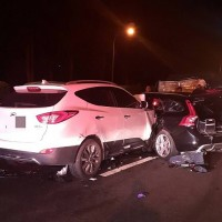 Taiwanese man killed on highway inspecting damage of previous accident