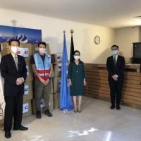 UN organization thanks Taiwan for 50,000-mask donation to Kuwait