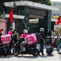 Food-delivery businesses prosper in Taiwan amid pandemic